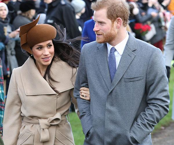 Meghan is the first unmarried partner to be invited to the Christmas gathering.