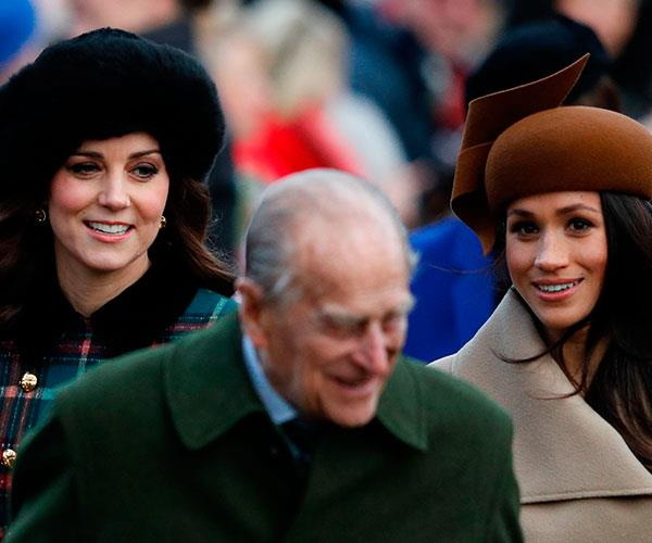 Fans were delighted to see Kate and Megs together for the first time!