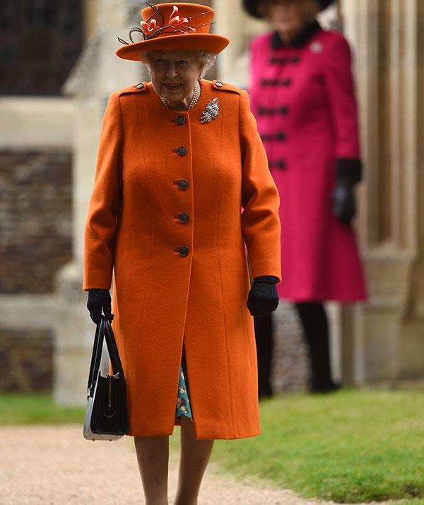 Looking sublime in orange!