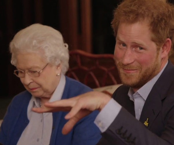The Queen and Harry's Invictus viral video showed off their strong bond.