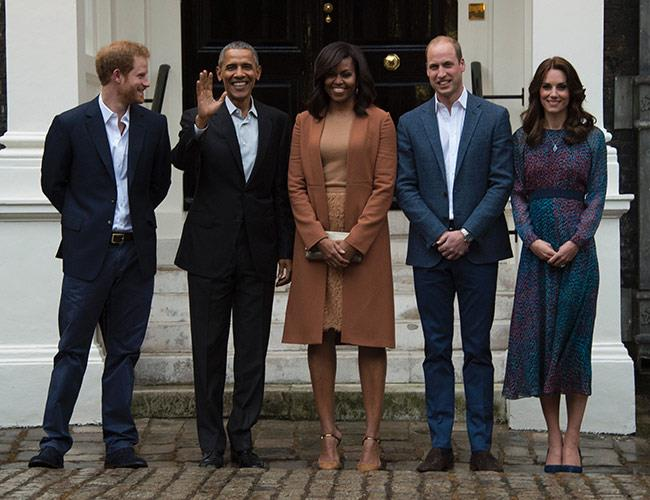 With the Duke and Duchess of Cambridge, London 2016