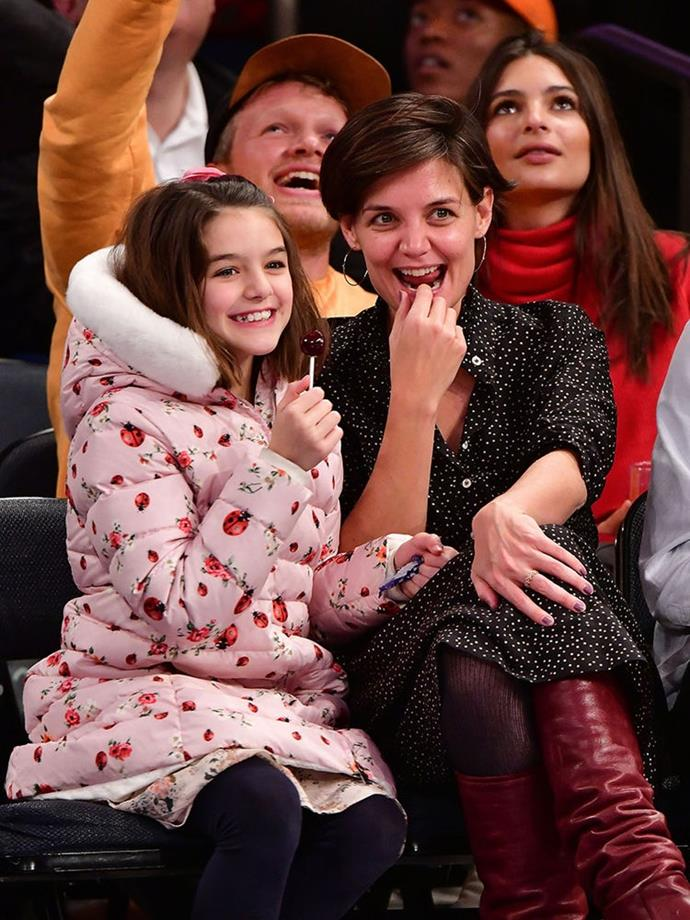 Suri and Katie are two peas in a pod.