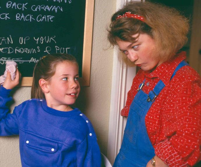 **6. PIPPA ROSS (VANESSA DOWNING & DEBRA LAWRANCE) (VANESSA DOWNING – 1988-1990; DEBRA LAWRANCE 1990-1998, 2000, 2002, 2003, 2005-2009)** The first episode of *Home And Away* centred on the kind-hearted Pippa, her husband Tom (Roger Oakley) and their foster children moving to the Bay. But Pippa dealt with more than her share of grief, too: Tom died of a heart attack, she lost a baby to SIDS, and her second husband, Michael (Dennis Coard), drowned. While she adored all her children, Pippa always had a special place in her heart for Sally.