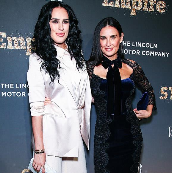 Supposedly Demi's 29-year-old daughter, Rumer set her mum up with former Disney star, 25-year-old Nick.