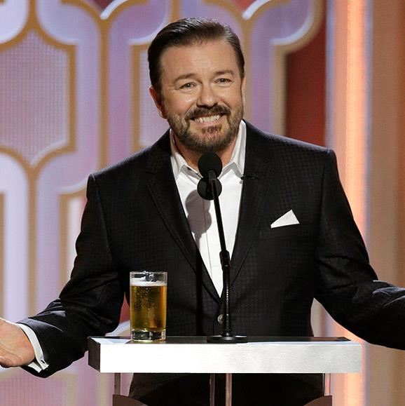 "**Ricky Gervais insults the *Sex And The City* gals.** Time and time again, former Golden Globes host Ricky Gervais takes to the stage to go hard at his Hollywood peers. And while over the years he has had some savage remarks, none made us gulp like the time he dropped a viscous line about the *Sex And The City* cast in his monologue for the 2011 show: ""There were a lot of big films that didn't get nominated this year. Nothing for *Sex And The City 2*. I was sure the Golden Globe for special effects would go to the team that airbrushed that poster. Girls, we know how old you are. I saw one of you in an episode of *Bonanza*."""