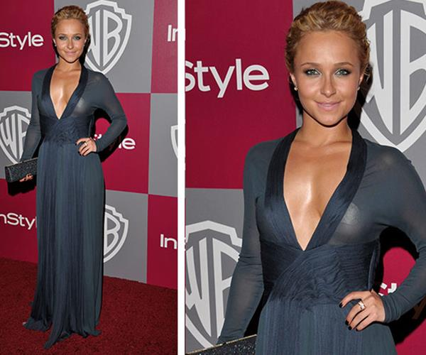 Hayden Panettiere was at the 2011 ceremony where she opted to wear a stunning sheer gown. Unfortunately, the bright flashes meant her nipple-pasties were the star of the show.