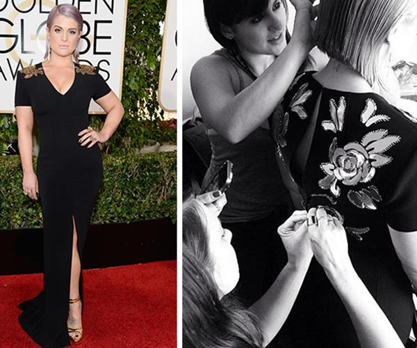 One year Kelly Osbourne's zipper broke before even making on the red carpet. Thankfully she had her team of stylists awaiting with needle and thread.
