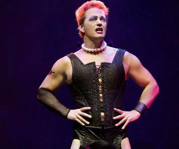 Craig as the lead role of Dr Frank N. Furter in the *Rocky Horror Picture Show*.