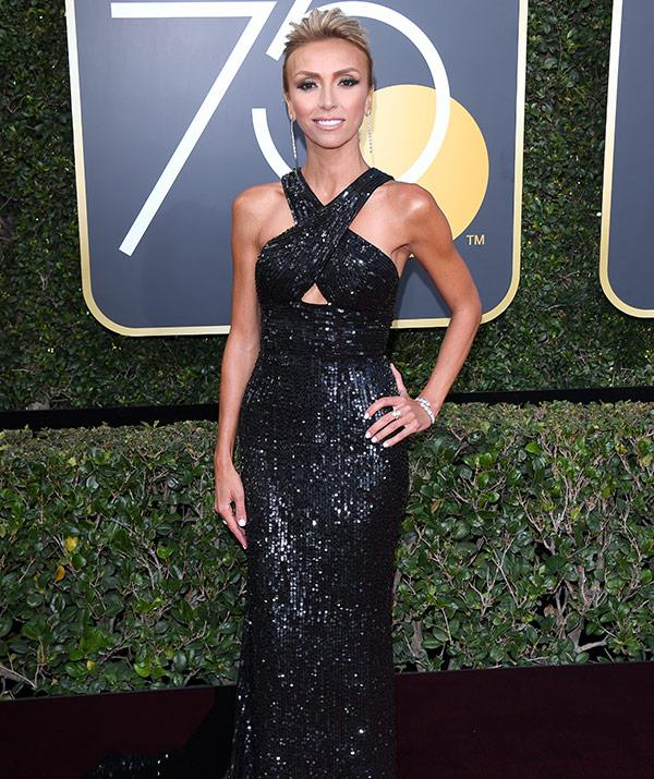 "The red carpet queen [Giuliana Rancic](https://www.nowtolove.com.au/celebrity/celeb-news/giuliana-rancic-on-being-five-years-cancer-free-33152|target=""_blank"") has arrived!"