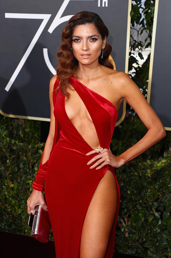 "American actress Blanca Blanco shunned the black dress code and instead wore a daring red velvet gown. Her dress choice stirred headlines, but the 36-year-old was quick to respond telling *[Fox News](http://www.foxnews.com/entertainment/2018/01/08/blanca-blanco-responds-to-criticism-after-ignoring-all-black-dress-code-at-golden-globes-shaming-is-part-problem.html|target=""_blank"")* wearing a red does not mean she is against the movement. ""I applaud and stand by the courageous actresses that continue to break the cycle of abuse through their actions and fashion style choices...I am excited about the #TimesUp movement; true change is long overdue,"" she said before adding that shaming women is part of the problem."