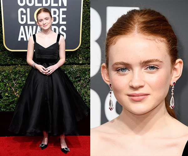 *Stranger Things'* Sadie Sink, 15, told Giuliana Rancic she's looking forward to hearing tales of empowerment this evening.