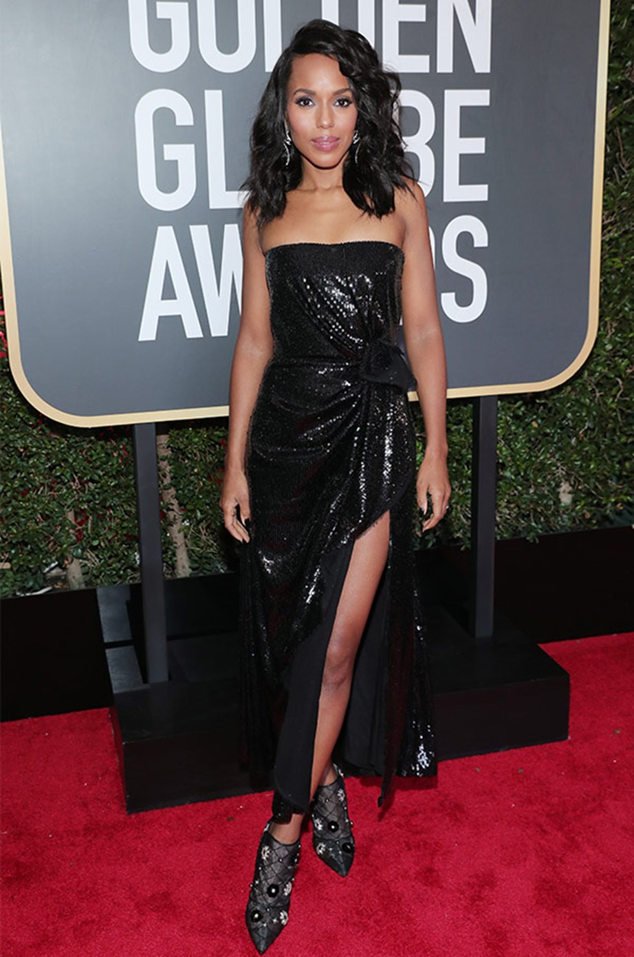 **Kerry Washington** and her famous friends appeared in several videos vocalising their support of the Time's Up movement.