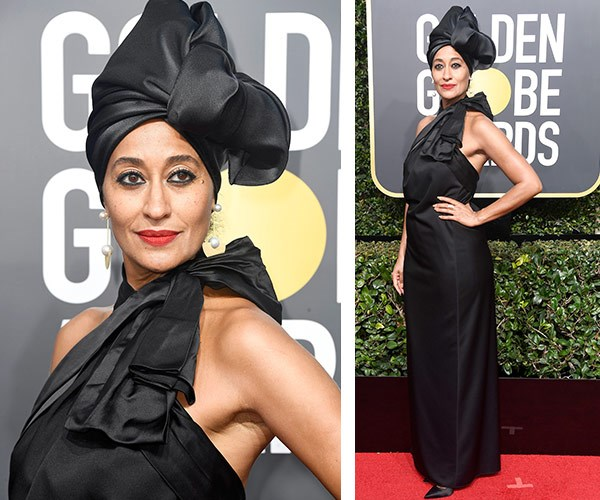 """*Blackish* star Tracee Ellis-Ross has been one of the main stars to spearhead the [#TimesUp movement.](https://www.nowtolove.com.au/fashion/red-carpet/why-are-actresses-wearing-black-golden-globes-44043