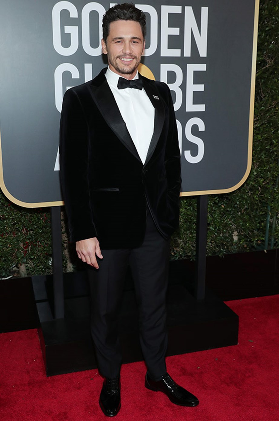 James Franco is up for best actor – motion picture musical or comedy.