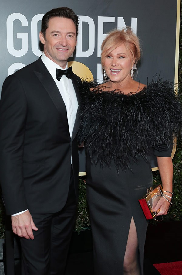 It only makes sense that La La Land's Greatest Showman, Hugh Jackman, would be flanked by his equally fabulous (and stylish) partner-in-love, Deborra-Lee Furness!
