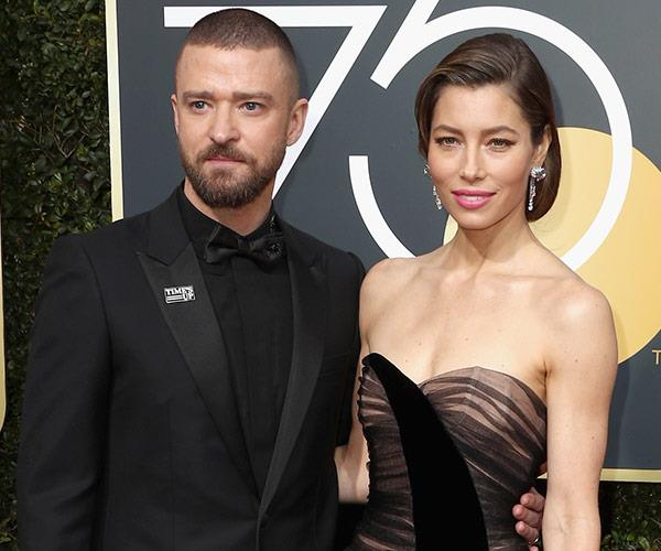 "And the star says she couldn't have done it without the love and support from her husband, Justin Timberlake. ""This man held out family together,"" she told Ryan Seacrest."