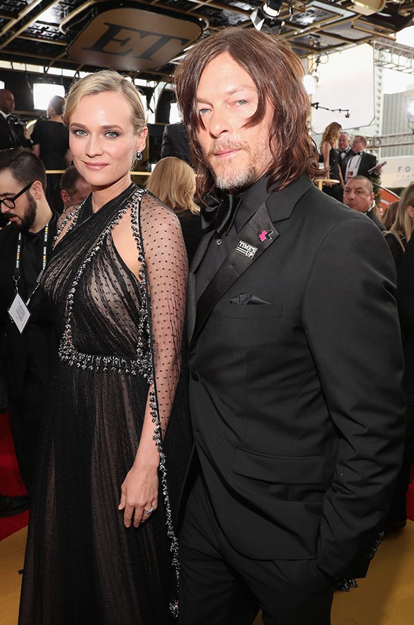 Diane Kruger and Norman Reedus have the look of lurve!