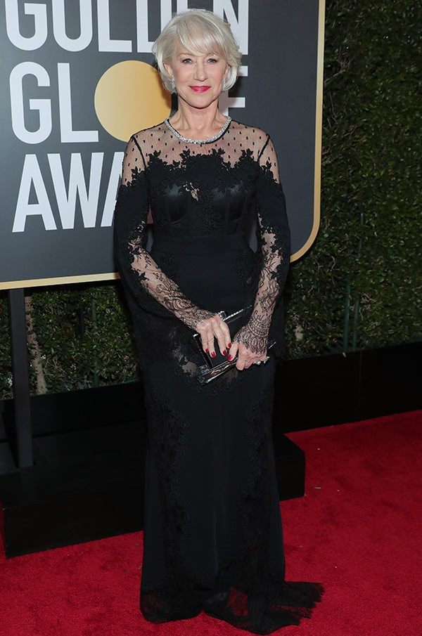 Dame Helen Mirren is nominated for Golden Globe Award for Best Actress – Motion Picture Comedy or Musical for *The Leisure Seeker*.