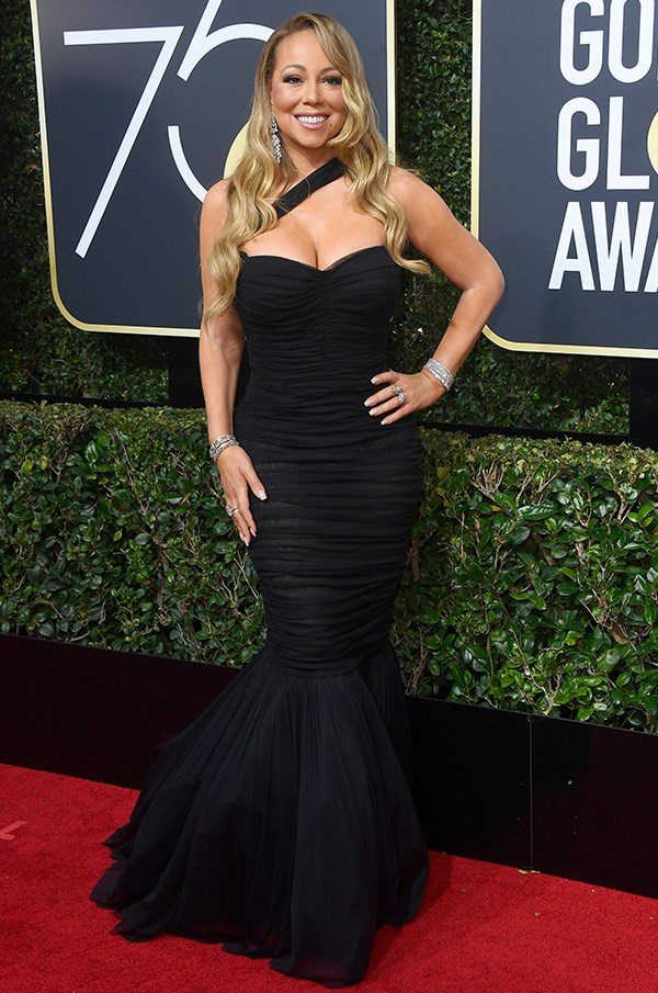 Wowsers! How incredible does Mariah Carey look.