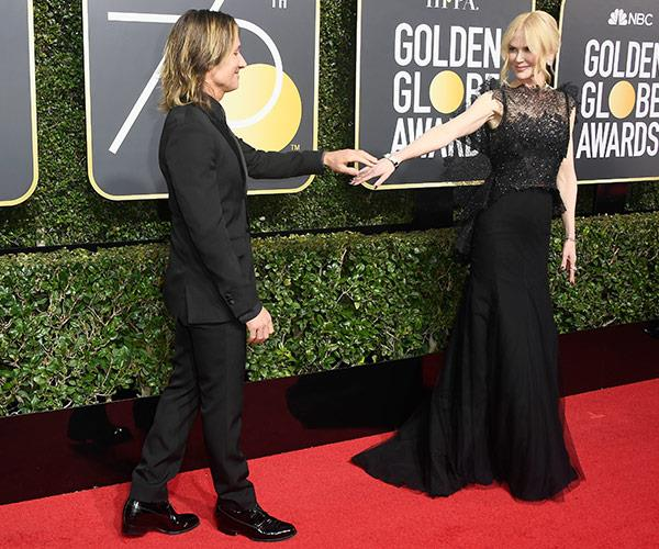 This marks Nicole's fourth Golden Globe award.