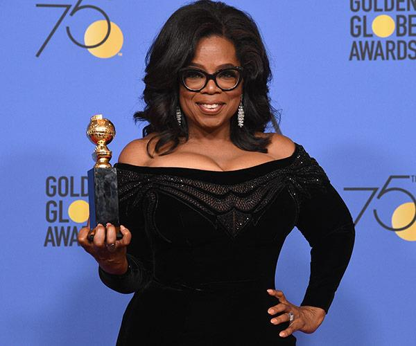 "[Oprah Winfrey's](https://www.nowtolove.com.au/tags/oprah-winfrey|target=""_blank"") impassioned acceptance speech for the Cecil B. DeMille award was seriously inspiring."