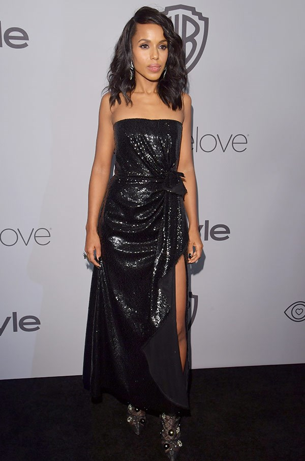 Kerry Washington is ready to party.