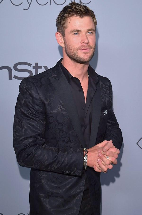 Ahh, Chris Hemsworth it's always a pleasure!