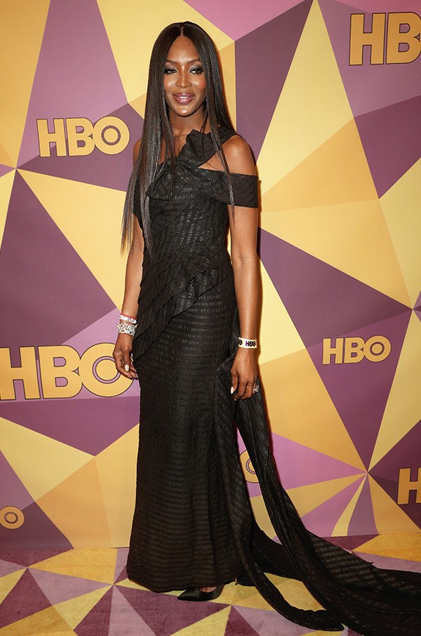 Bow down! Naomi Campbell is in the house.