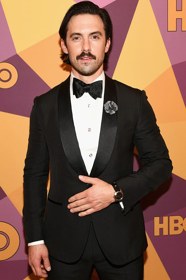 Milo Ventimiglia all suited up has us swooning.