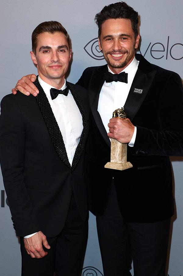 The Franco brothers are each other's biggest fans.