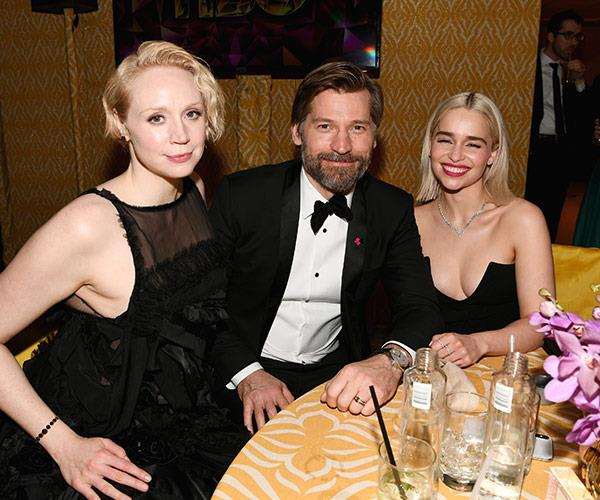 *Game of Thrones* fans tell us this, what do you get when the Mother of Dragons hangs out with Brienne of Tarth AND Jaime... A swell time!