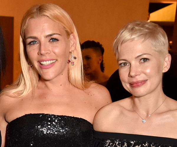Busy Phillips and BFF Michelle Williams.