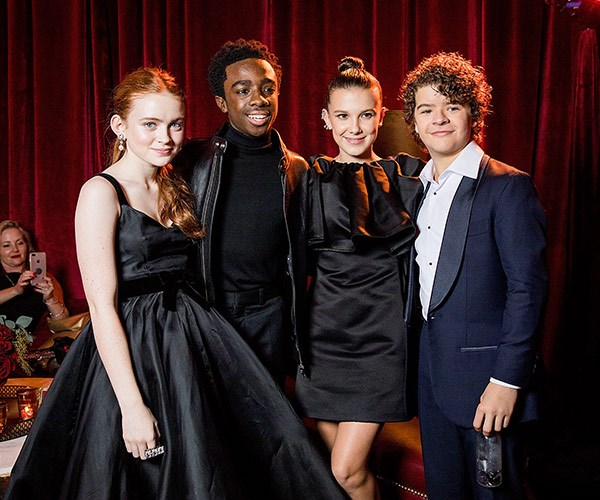 Our favourite tweens, the gang from *Stranger Things*.