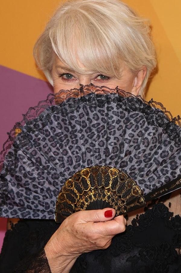 How coy, Dame Helen Mirren.