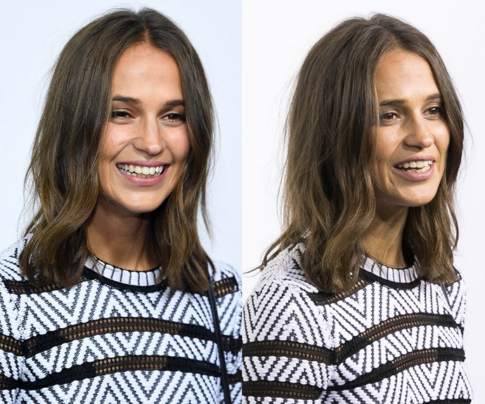 **Alicia Vikander's** lived-in waves are the ultimate end-of-summer style, perfectly embodying the season's low-fuss vibes. To get beachy waves at home start by spraying damp hair with sea salt spray. Then, depending how much time you have, twist your hair into Björk-style knots or mini braids and leave to air-dry. (You can always do it before bed too and remove them in the morning.) If you're running low on time, scrunch into your hair and dry on a low heat with a diffuser. Avoid brushes and use your fingers to separate the waves or style.