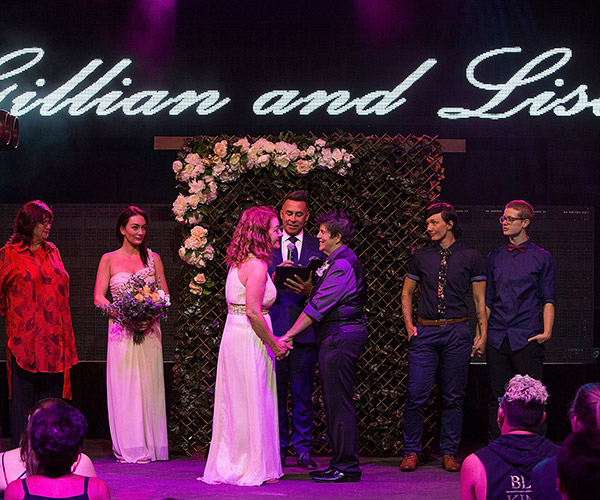Gay Couples Marry in Midnight Wedding Ceremonies Across Australia