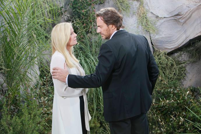 Katherine's character Brooke may get back back together with Ridge in the future.