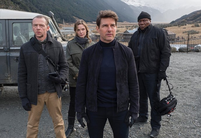 ***Mission: Impossible 6*** **(in cinemas August 2)** Tom Cruise made headlines in 2017 when he broke an ankle duringa rooftop jump while making this movie. The actor has a reputation for doing many of his own stunts. From a fan's perspective, it probably adds to the adrenalin-charged experience knowing Tom really is out there risking his life to keep us entertained. The sixth flick in the spy franchise goes into the back story of his character, Ethan Hunt. The movie also stars Rebecca Ferguson, Alec Baldwin and Simon Pegg.
