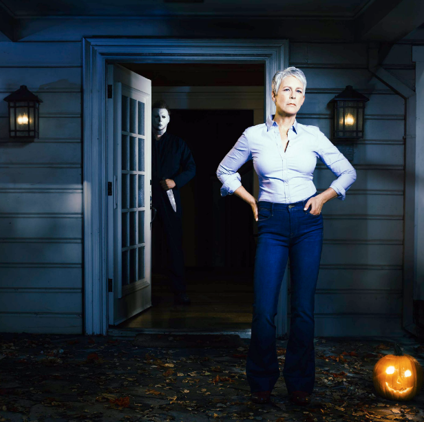 ***Halloween*** **(in cinemas October)** Bet you thought you'd seen the last of Michael Myers, huh? Forty years after the first film came out, Jamie Lee Curtis is making a return as epic survivor, Laurie Strode. No word yet on what the plot is but considering Michael's head was chopped off at the end of the last flick, we're guessing there's maybe another vengeful copycat killer on the loose?