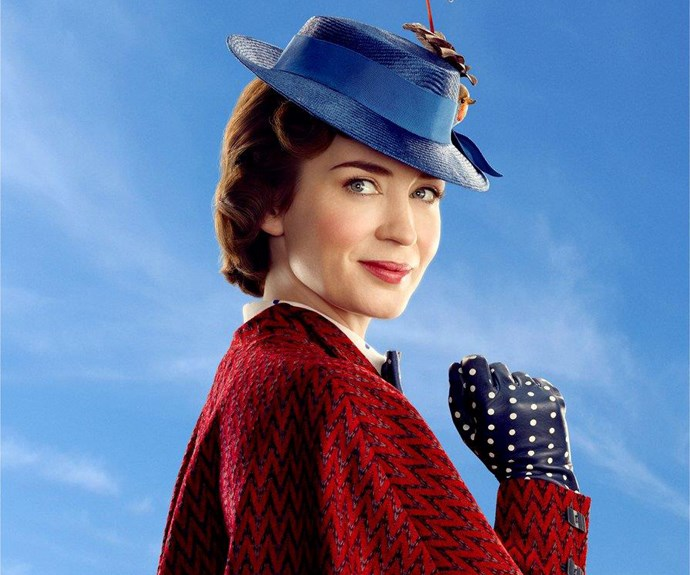 ***Mary Poppins Returns*** **(in US cinemas December 25)** Disney lovers, rejoice! Mary Poppins is making a comeback and this time it's Emily Blunt who is wearing the famous derby hat. It's a sequel to the 1964 film, and shows the magical nanny visit a grown-up Michael Banks. Emily stars alongside Meryl Streep and Lin-Manuel Miranda.