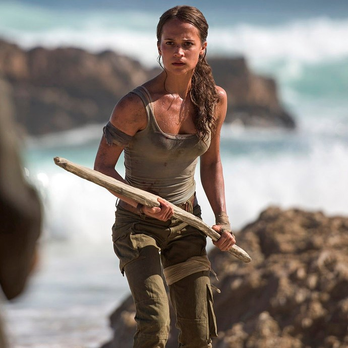 ***Tomb Raider*** **(in cinemas March 15)**  The iconic story of Lara Croft, previously played by Angelina Jolie, is getting a reboot with swedish actor Alicia Vikander. While Lara won't be donning her equally iconic short-shorts, she is just as kick-ass as she embarks on a dangerous journey to find her father.