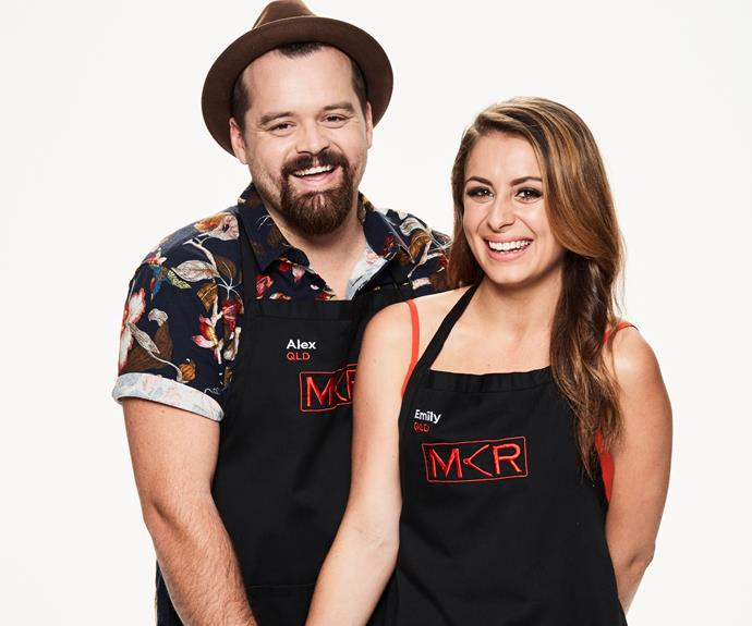 ****Cruisy combo:** Alex, 35 & Emily, 27, QLD  **What are your thoughts going into the competition?**  **Alex:** We know what it takes to run a great venue.  **Emily:** We entertain at home. We entertain at work. We do it every day. This is just on a bigger scale.
