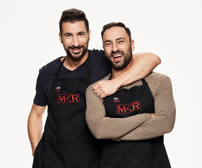 ****Italian brothers:** Josh, 36 & Nic, 33, NSW   **Are you nervous about cooking for the judges?**  **Nic:** We're not worried.  **Josh:** Our instant restaurant will be the best. Italians do it better!