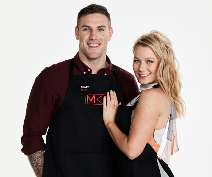 ****Defence force foodies:** Matt, 26 & Aly, 25, QLD   **Describe your cooking style…**  **Aly:** A little bit of everything.  **Matt:** We experiment. If it's tasty, we'll run with it. If it isn't, we'll never cook it again.