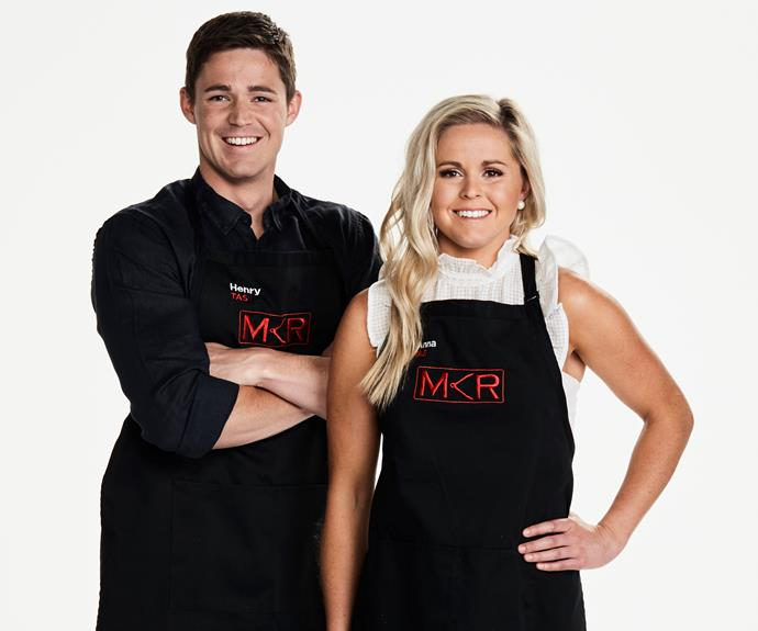 ****Tassie truffle farmers:** Henry, 26 & Anna, 24, TAS   **What do you hope to get out of the competition?**  **Anna:** We really want to showcase our love of truffles.  **Henry:** It's a once-in-a-lifetime experience.