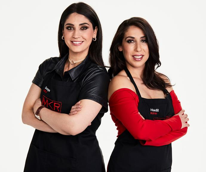 **Fiery friends:** Sonya, 34 & Hadil, 30, NSW   **What annoys you about each other?**  **Sonya:** Hadil has a tendency to zone out when we're cooking.  **Hadil:** Sonya is a perfectionist and over-thinks measurements.