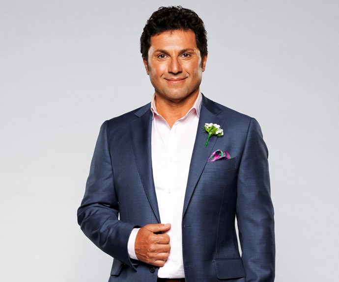 **Nasser, 50, NSW - Fitness instructor**   Self-care is a top priority for Nasser. A confessed clean freak and gym junkie, he's used to his bachelor life, but now wants to settle down. His one criteria? His wife must have painted toenails.