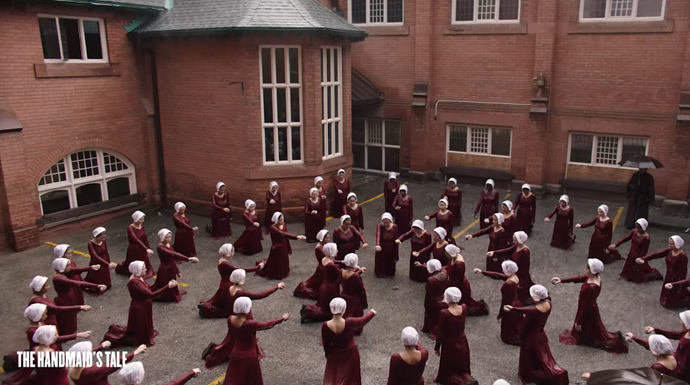We're sure June has inspired a stronger resistance among the handmaids this time round.