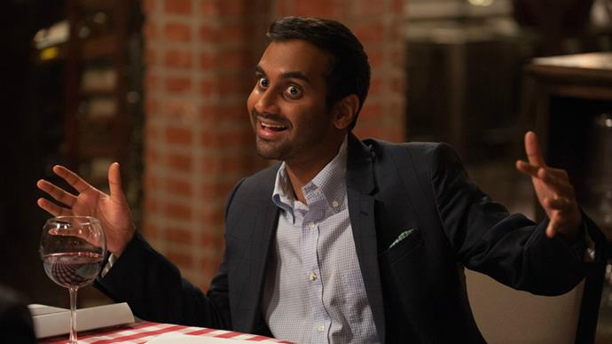 Aziz in Netflix comedy series, *Master of None*