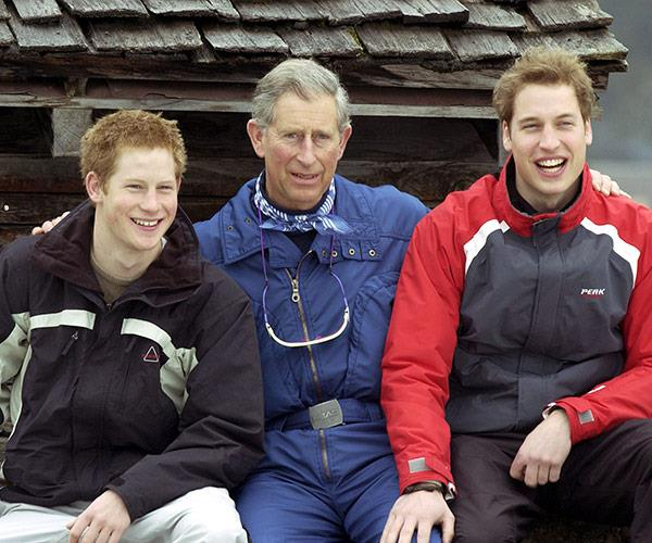 Switzerland is a British royal family hot spot.
